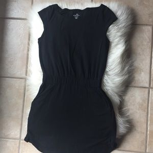 Athleta Black Cotton Dress